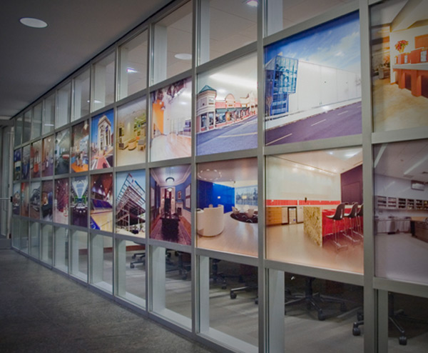 Backlit vinyl printing and banners in Chicago - best prices for backlit vinyl printing