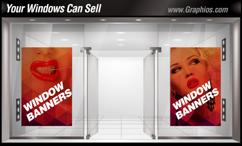 Window graphics printing and installation