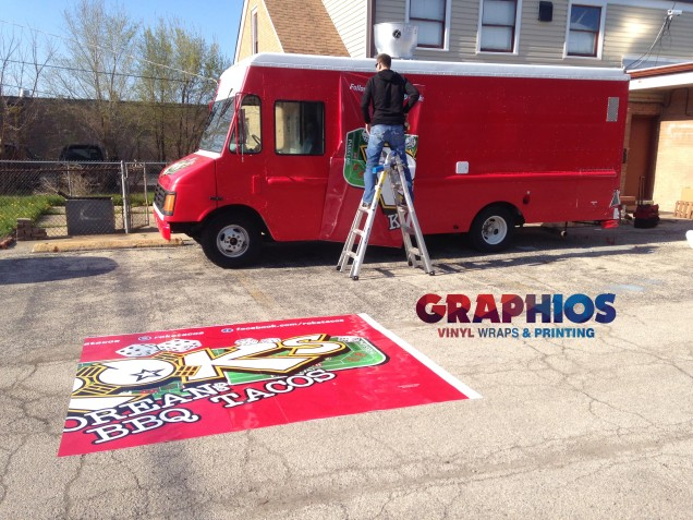 3M vinyl wrap - food-truck-car-wrap-in-chicago-by-GRAPHIOS (773) 413-0070